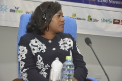 Madam Liliane Nadege Ngari, Chairperson of the 8th African Shippers Day & CEO of Gabon Shippers Council
