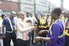 Tour of Tema Port