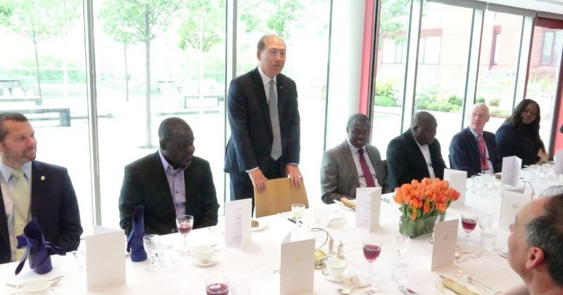 INTERNATIONAL MARITIME ORGANISATION'S FAREWELL LUNCHEON IN HONOUR OF DR. KOFI MBIAH