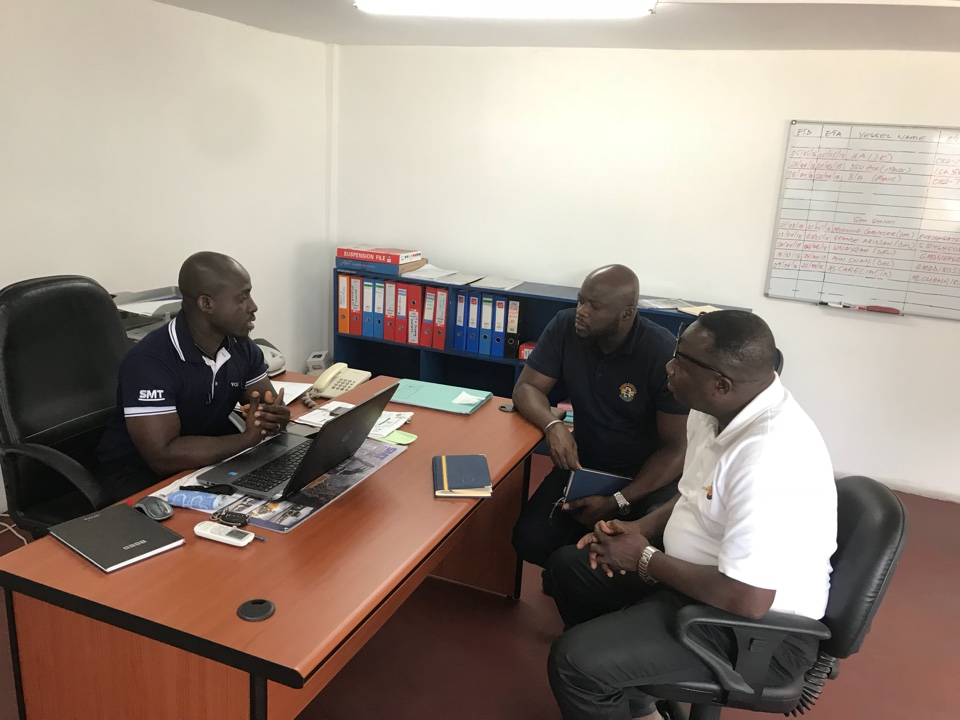 GSA pays visits to Shippers in Accra - Ghana Shippers Authority