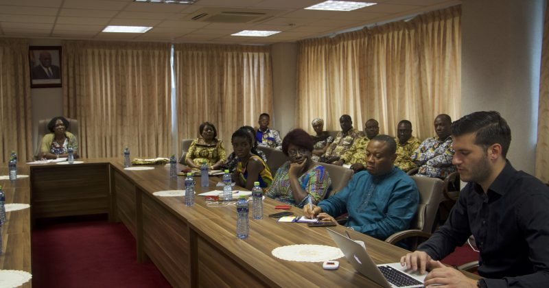 Ghana Export Promotion Authority introduces Market Hub to GSA staff